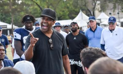Cowboys Headlines - WATCH: Denzel Washington Discusses Speech He Gave At Cowboys Training Camp