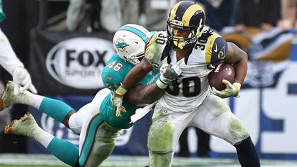Todd Gurley, Rams, Dolphins
