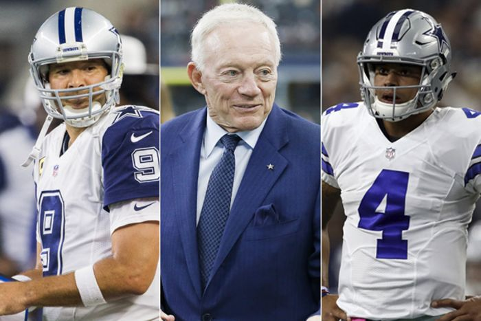 Cowboys Headlines - Healthy Tony Romo to Back Up Dak Prescott, According to Jerry Jones