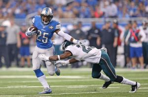 Theo Riddick, Eagles, Lions