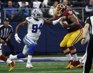 Randy Gregory, Redskins