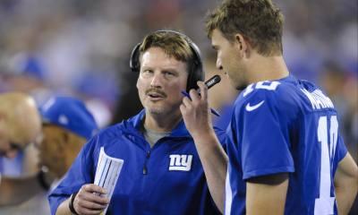 Ben McAdoo, Eli Manning, Giants