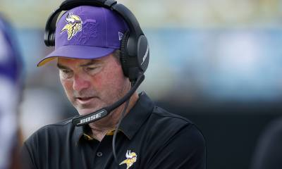 Cowboys Headlines - Vikings HC Mike Zimmer Out Against Cowboys on TNF