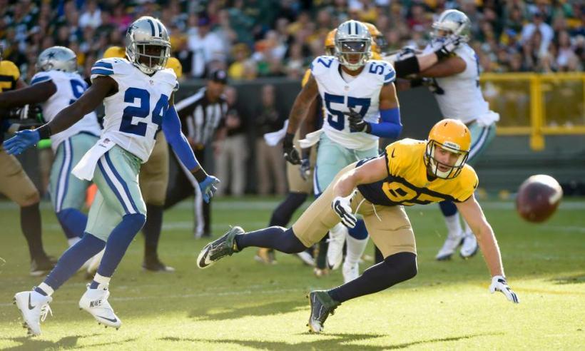 Morris Claiborne, Damien Wilson, Packers