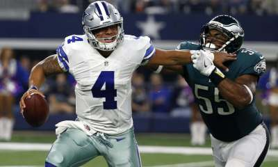 Dak Prescott, Eagles