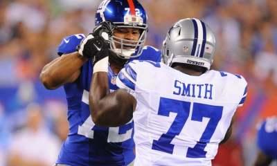 Tyron Smith, Giants