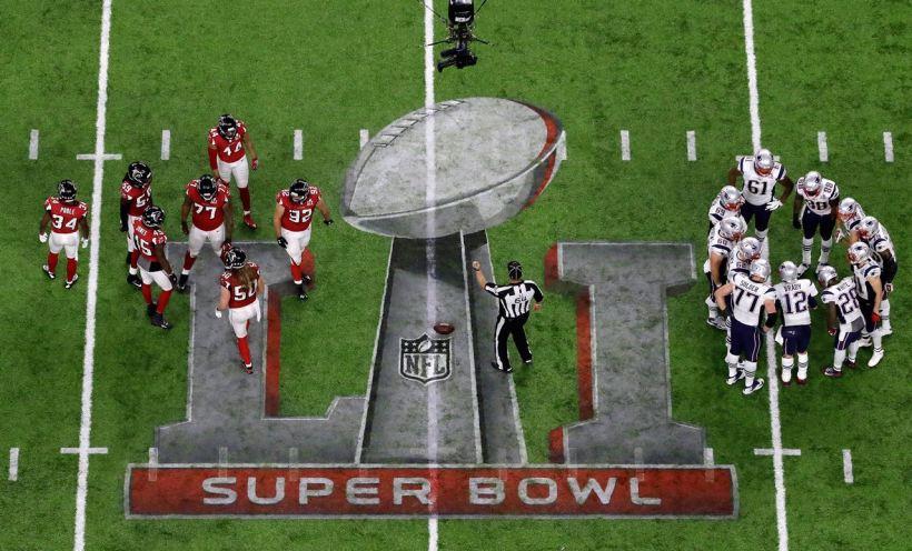 NFL Overtime, Patriots, Falcons, Super Bowl LI