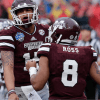 Dak Prescott Works Out with Top Mississippi State WR Fred Ross