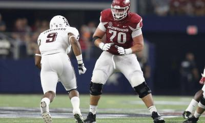 Cowboys Draft: Scouting UDFA Arkansas OL Dan Skipper