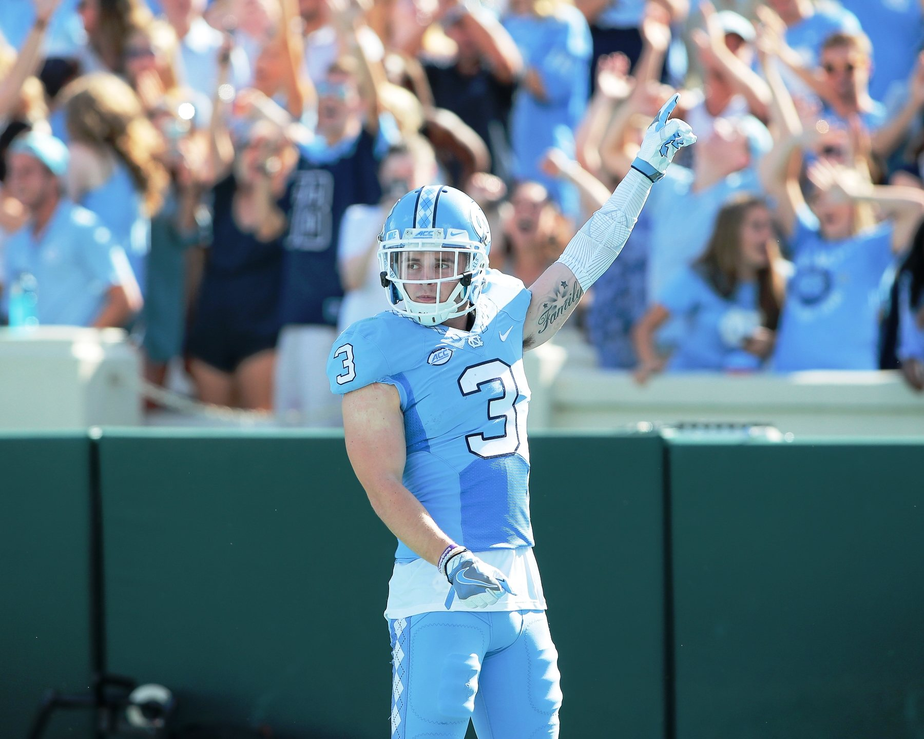 brand new c7732 d5227 4th Round Wide Receiver Ryan Switzer Announces Jersey Number ...