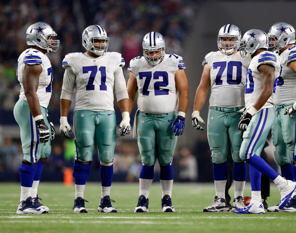 Cowboys offensive line