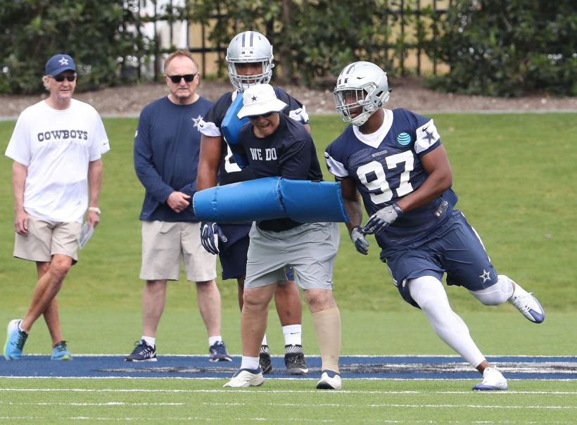 Cowboys' Rookies To Begin Training Camp Wednesday At The Star