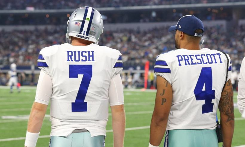 QBs Dak Prescott and Cooper Rush