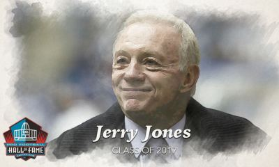 WATCH: Jerry Jones Receives Pro Football Hall of Fame Gold Jacket 1
