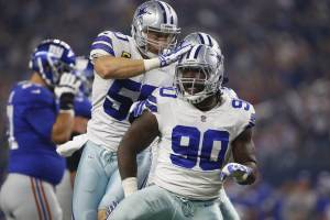 "DE DeMarcus Lawrence Cowboys Most ""Promising"" Young Star"