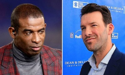 Tony Romo, Deion Sanders