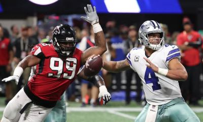 How Adrian Clayborn Ruined The 2017 Dallas Cowboys