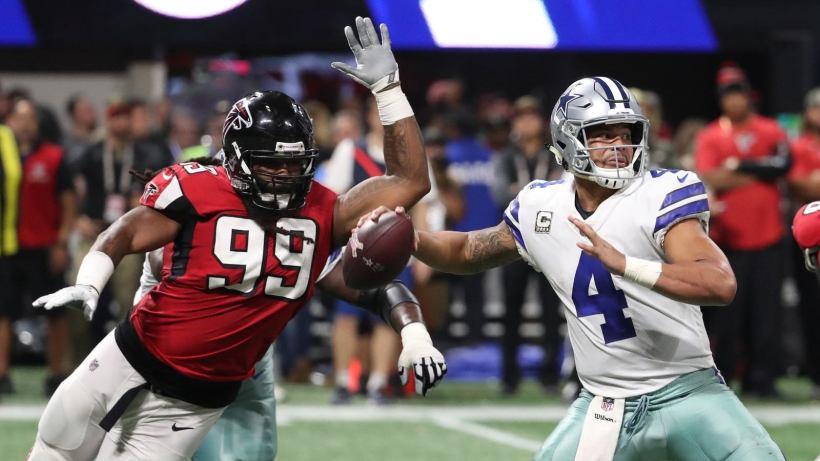 How Adrian Clayborn Ruined The 2017 Dallas Cowboys