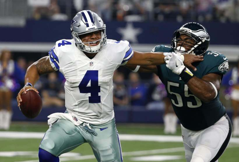 "Dak Prescott Weighs in on Cowboys ""Dak-Friendly"" Offense"