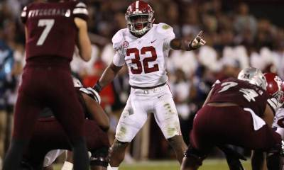 Alabama LB Rashaan Evans Joins Dallas Cowboys List of 30 Visits