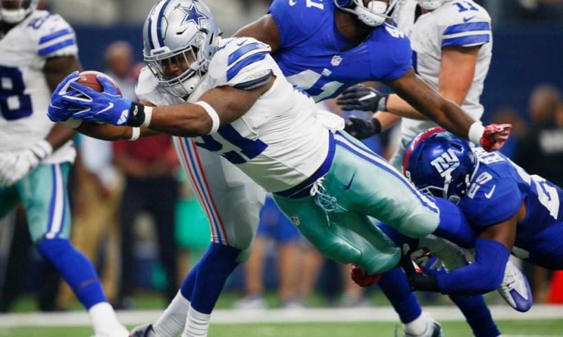 Surprisingly, Cowboys Just 1-2 Against Giants With Ezekiel Elliott