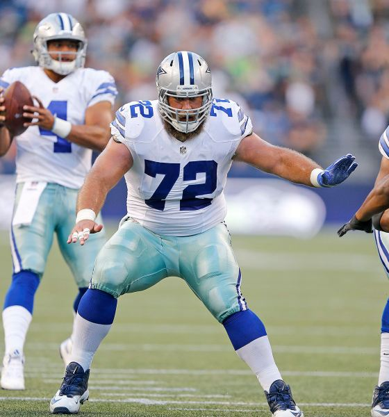 "Cowboys Center Travis Frederick Still Hoping to ""Be a Rock"" for Teammates Despite GBS Syndrome"