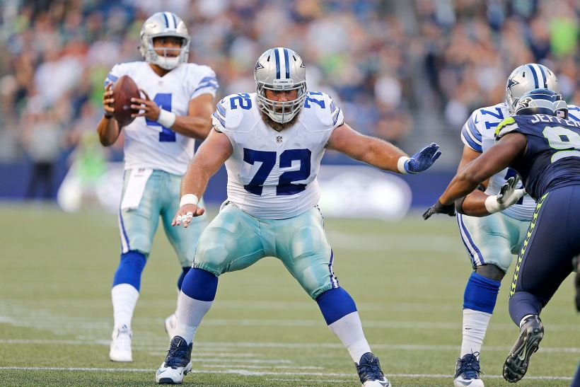 """Cowboys Center Travis Frederick Still Hoping to """"Be a Rock"""" for Teammates Despite GBS Syndrome"""