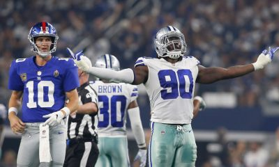 Sean's Scout: Cowboys Blitzes Keep Giants Play Makers in Check