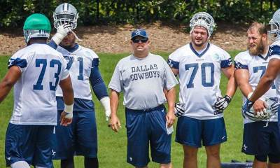Cowboys Fire OL Coach Paul Alexander, Promote Marc Colombo
