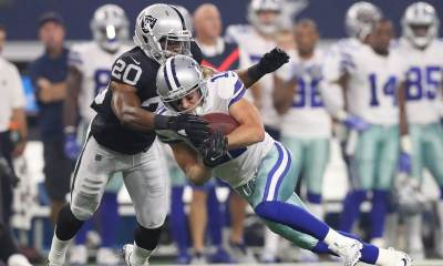 FA Safety Obi Melifonwu Visiting Dallas Cowboys