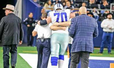 Zack Martin Out, Connor Williams In at Right Guard for Cowboys at Colts