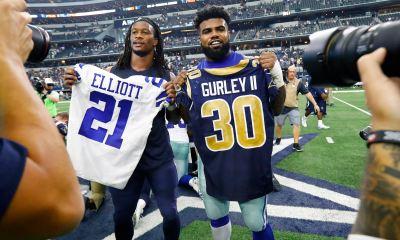 """Ezekiel Elliott, Todd Gurley Out To Prove Running Backs Do """"Matter"""""""
