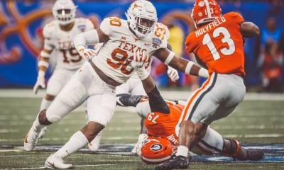 Cowboys Draft: Reviewing Texas DL Charles Omenihu