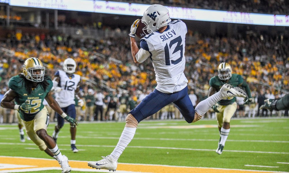 Cowboys Draft: Looking at West Virginia WR David Sills