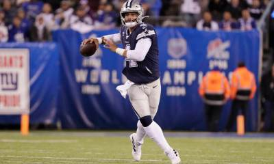 Dak Prescott Has Another Big Day in Cowboys Win Over Giants