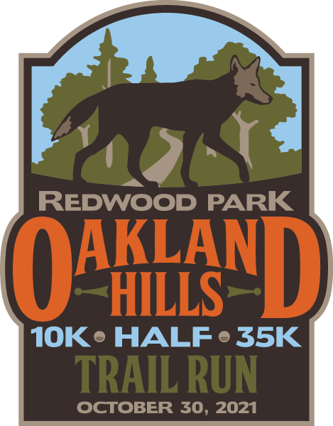 Oakland Hills Trail Run on October 30, 2021