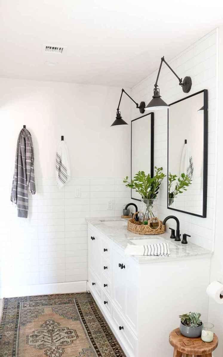 02 Modern Farmhouse Master Bathroom Remodel Ideas
