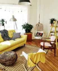 03 Beautiful Yellow Sofa for Living Room Decor Ideas