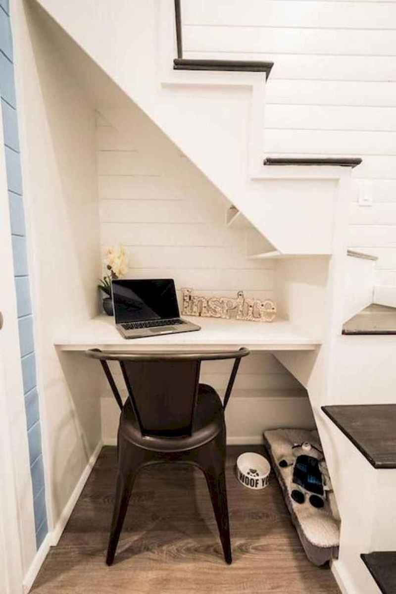 05 Clever Loft Stair Design for Tiny House Ideas