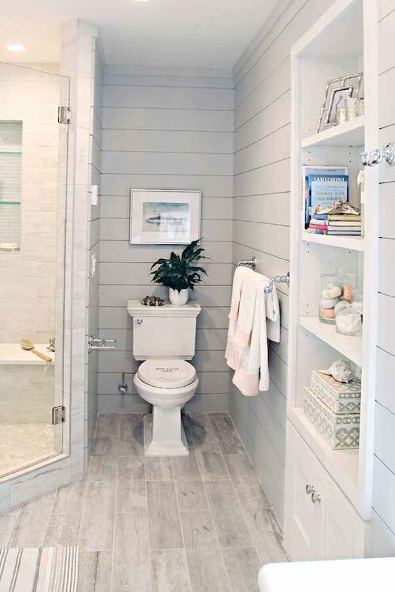 06 Modern Farmhouse Master Bathroom Remodel Ideas