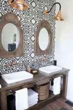 09 Modern Farmhouse Master Bathroom Remodel Ideas
