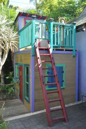 14 Exciting Small Backyard Playground Kids Design Ideas