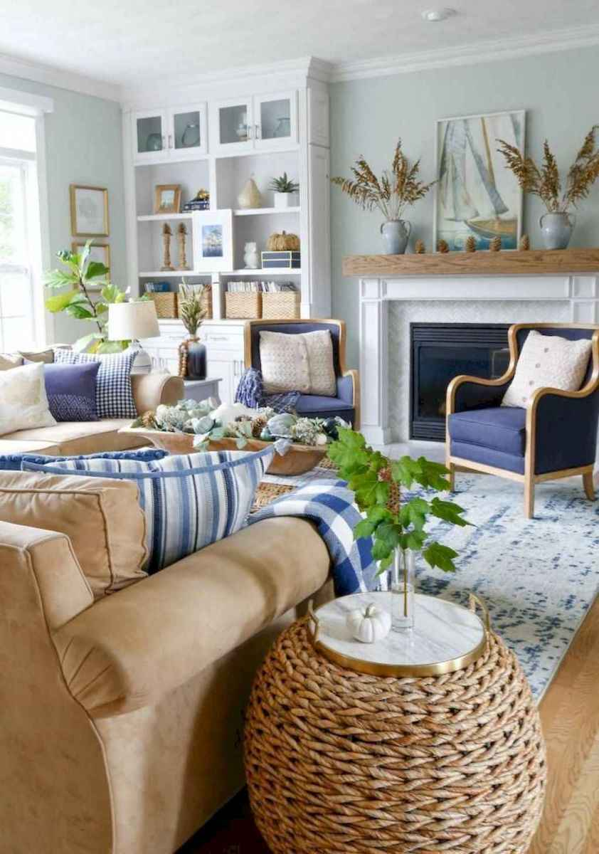 15 Beautiful Coastal Living Room Decor Ideas