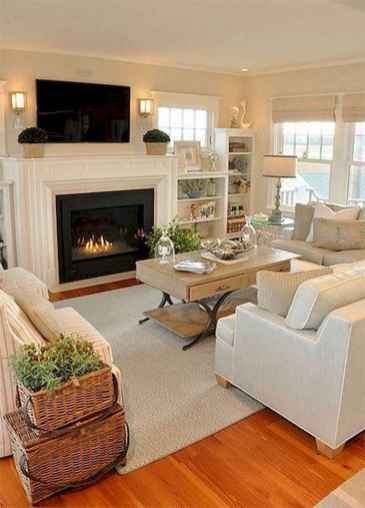 16 Beautiful Coastal Living Room Decor Ideas
