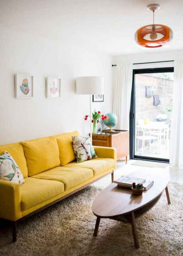 16 Beautiful Yellow Sofa for Living Room Decor Ideas