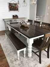 17 Beautiful Farmhouse Dining Room Table Design Ideas
