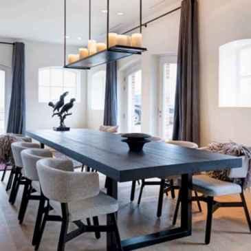 18 Beautiful Farmhouse Dining Room Table Design Ideas