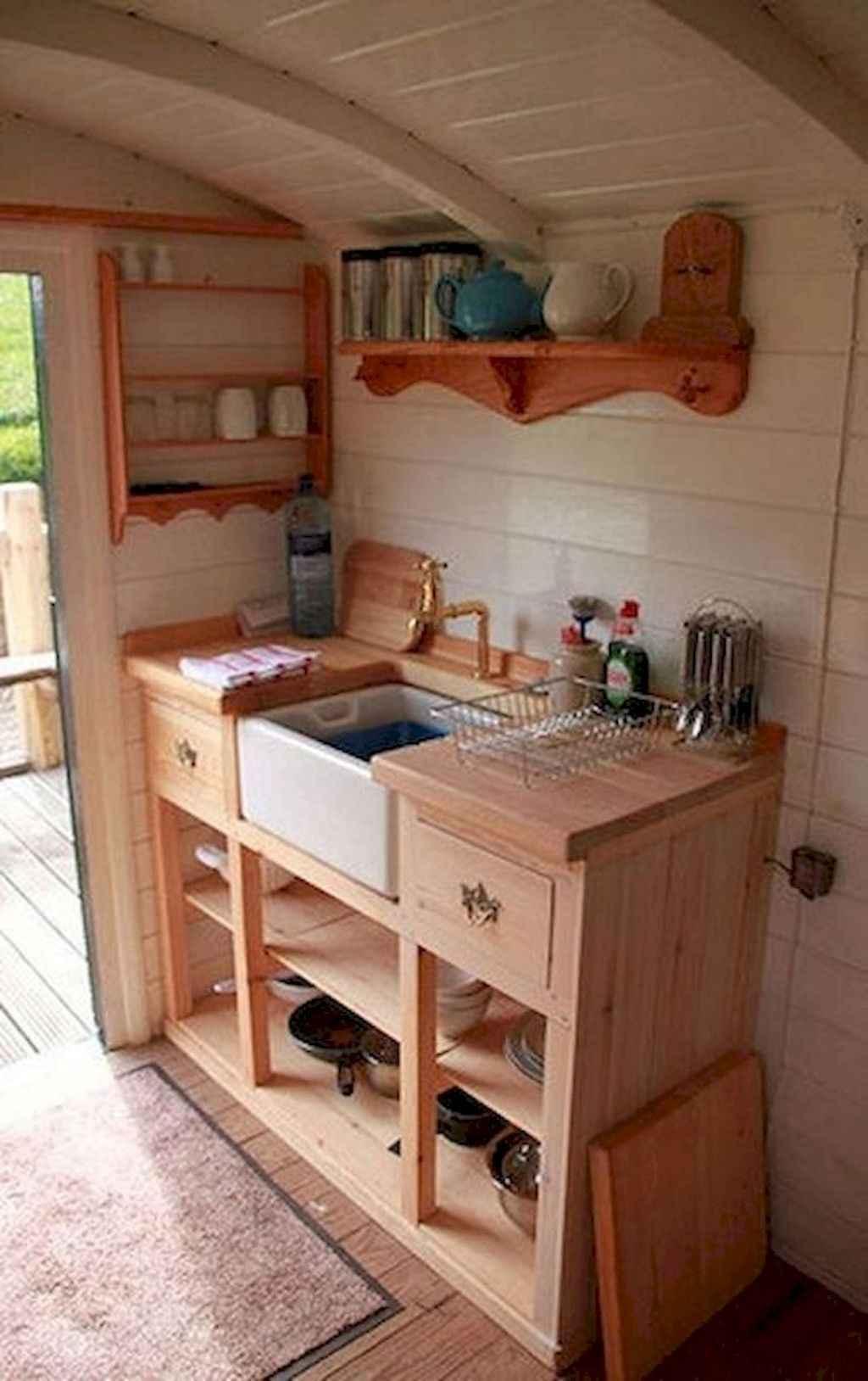 19 Tiny House Kitchen Storage Organization and Tips Ideas