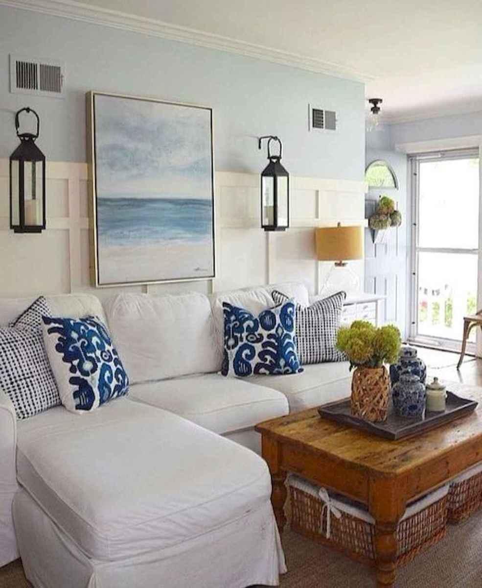 24 Beautiful Coastal Living Room Decor Ideas