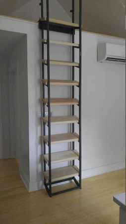 24 Clever Loft Stair Design for Tiny House Ideas